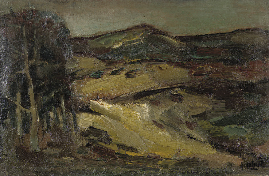 A dune landscape