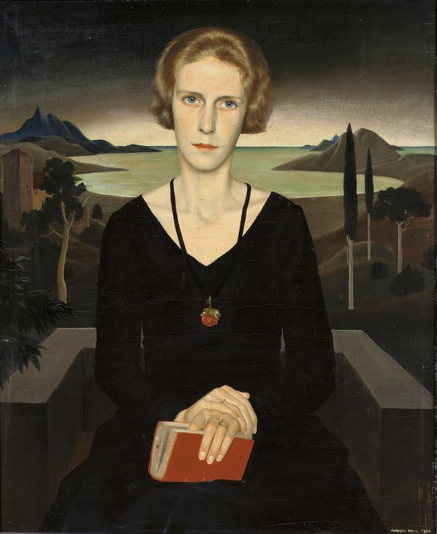 A portrait of Marianne Reyl