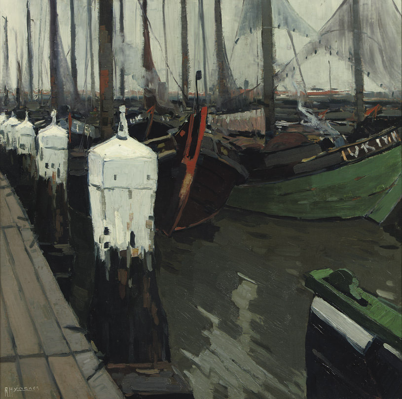 The harbour of Urk