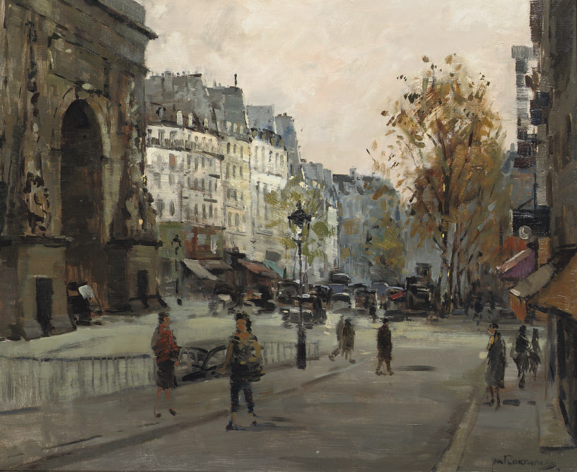 Parisian streetscene