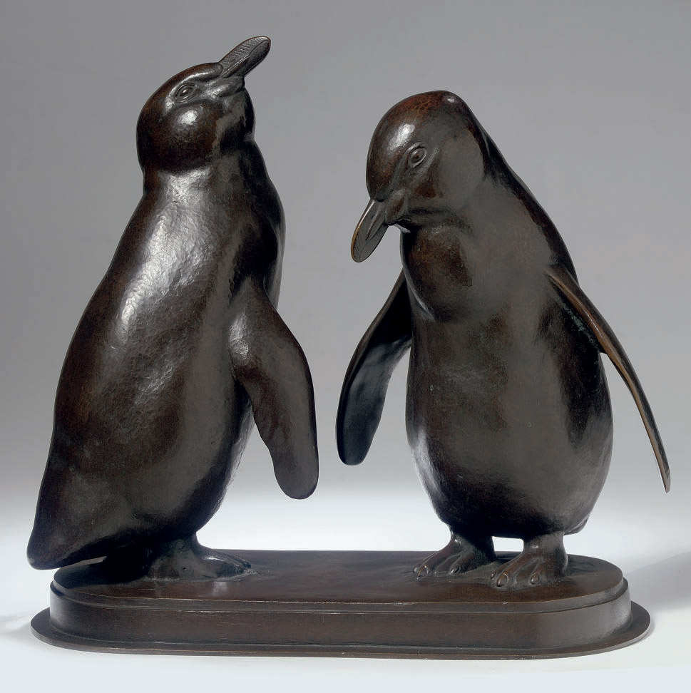 Zwei Pinguine: two penguins