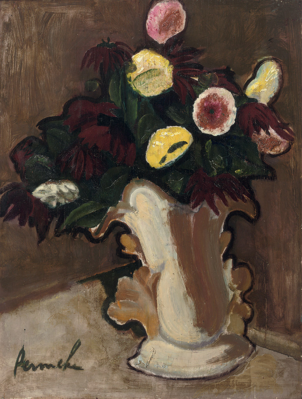 Fleurs: a still life with flowers