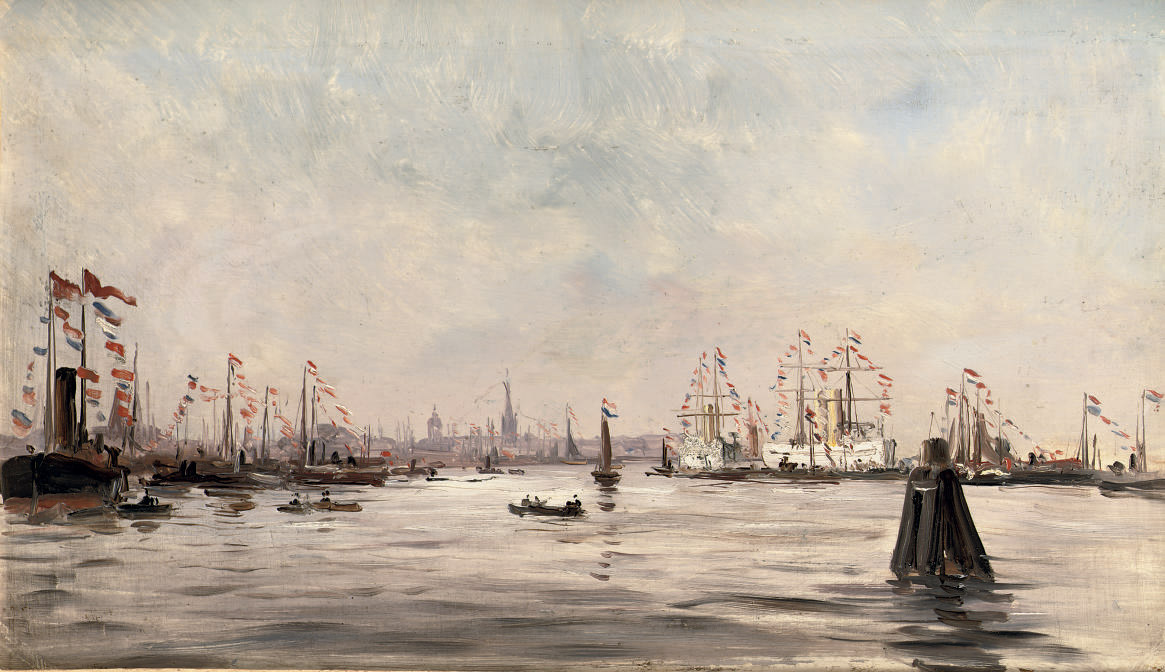 Festivities in the Amsterdam harbour