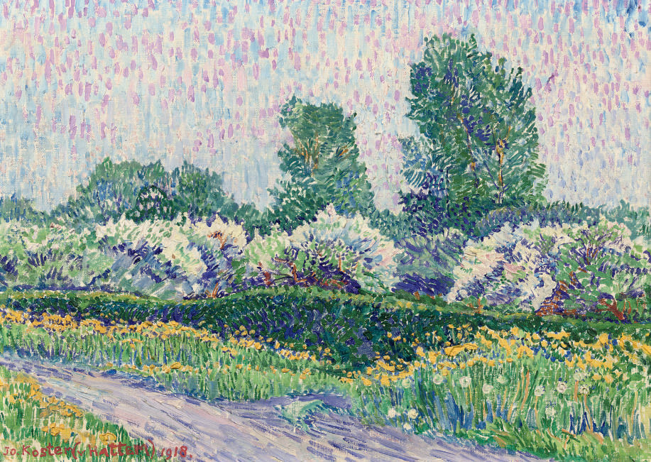 Vruchtboompjes: a blossoming orchard