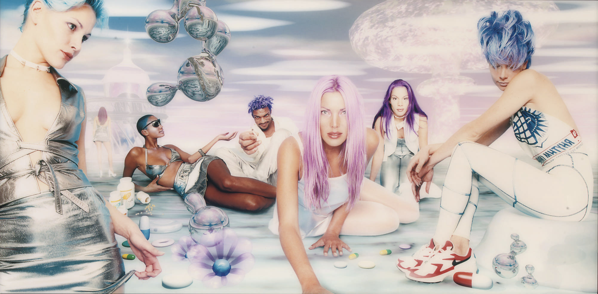 White chill (from Virtualistic Vibes series)