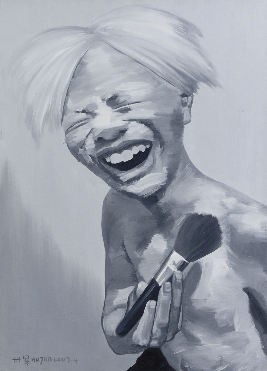 Portrait as Andy Warhol