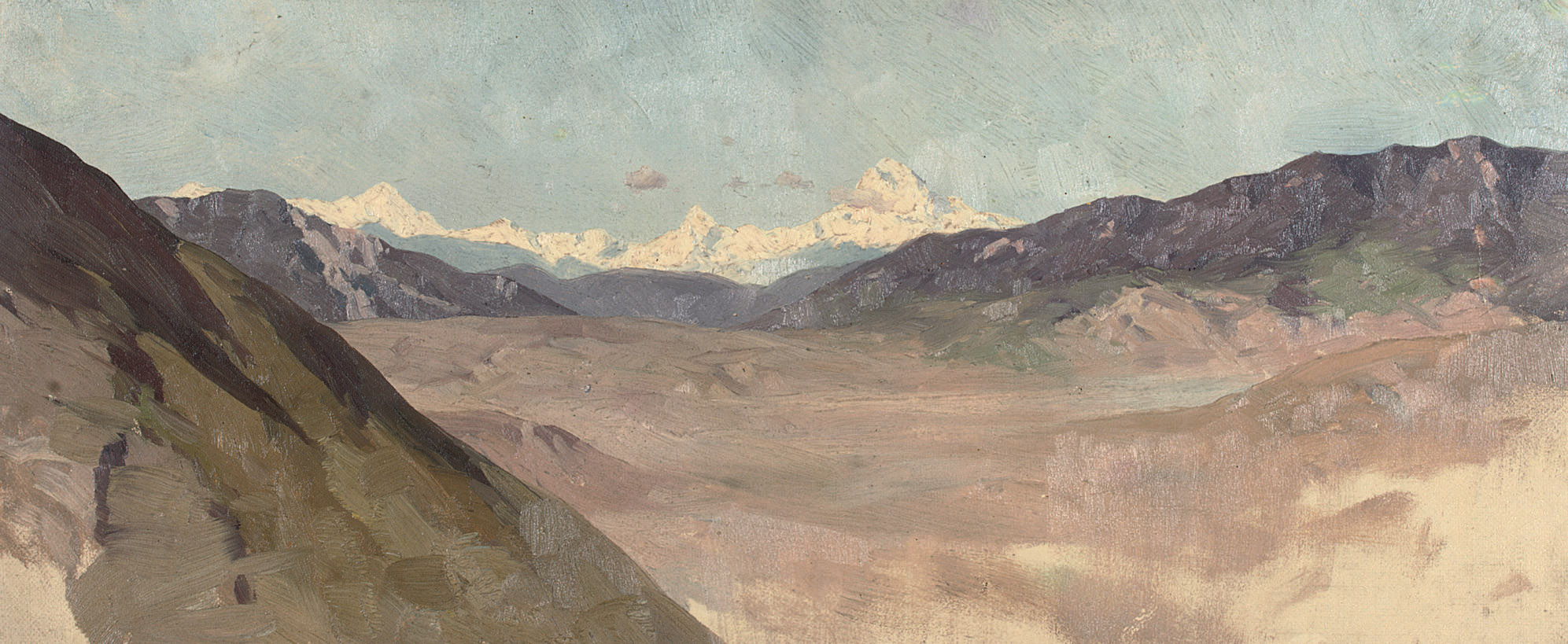 Study of a rugged landscape