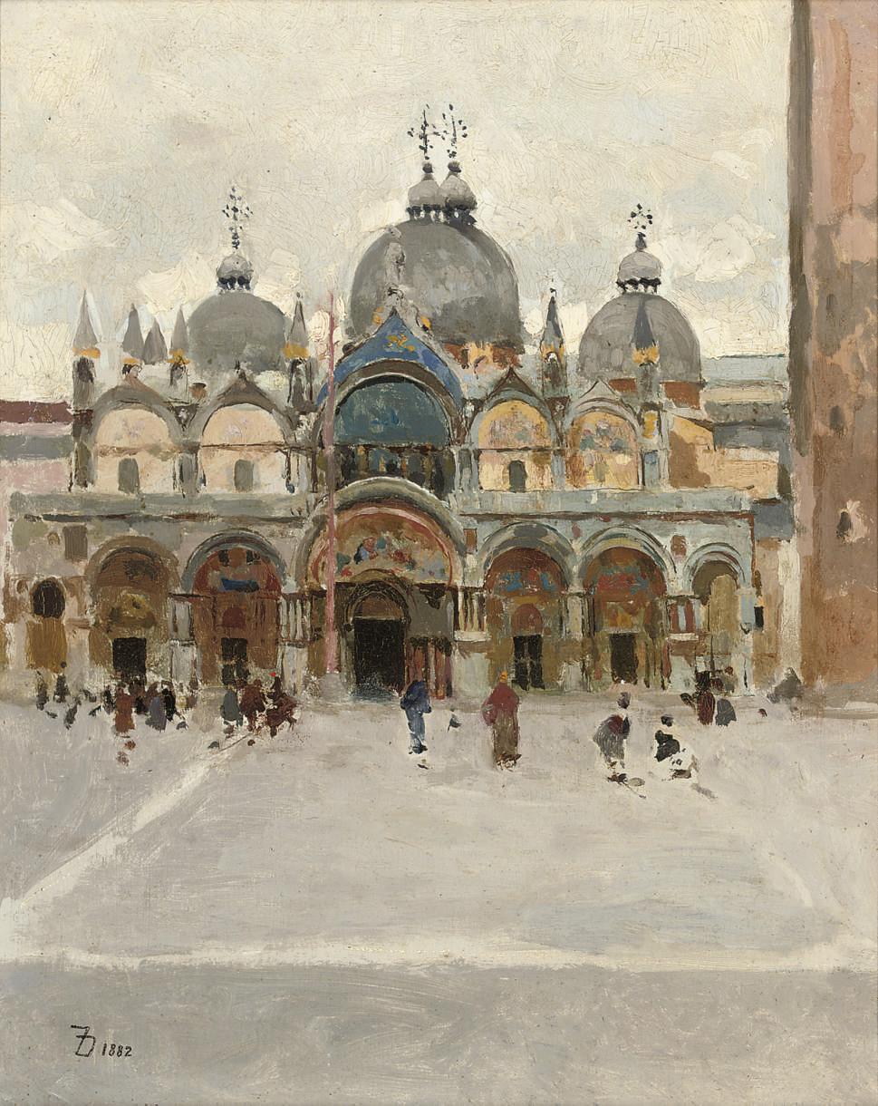The Basilica di San Marco, Venice