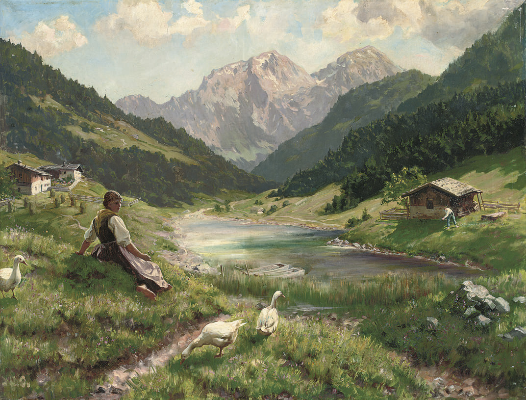 Summer in the Alps