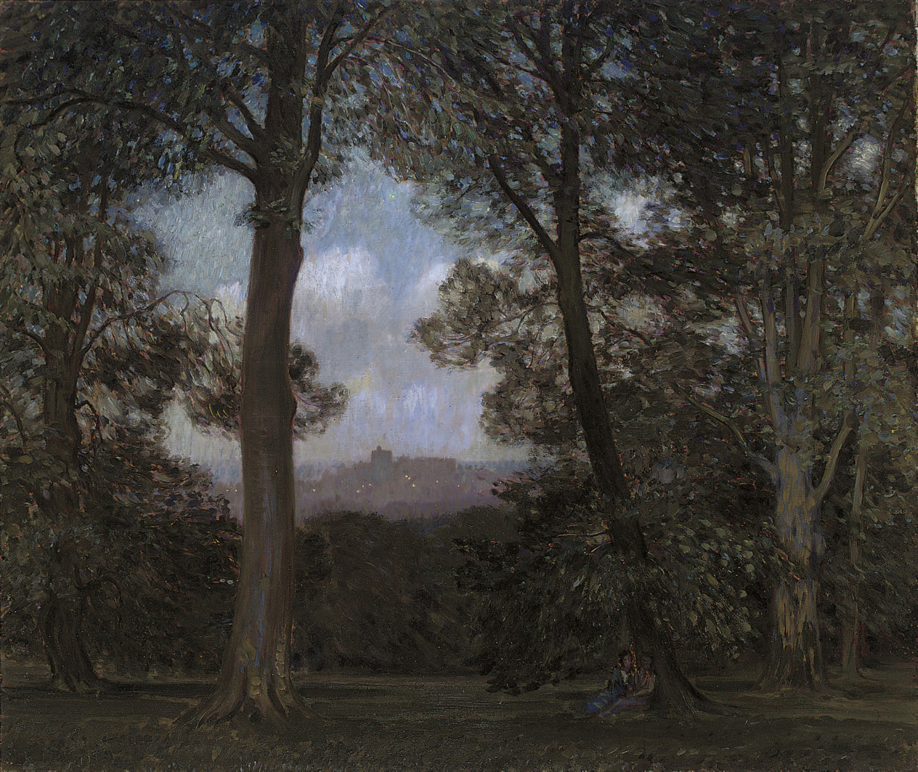 Twilight in Windsor Forest