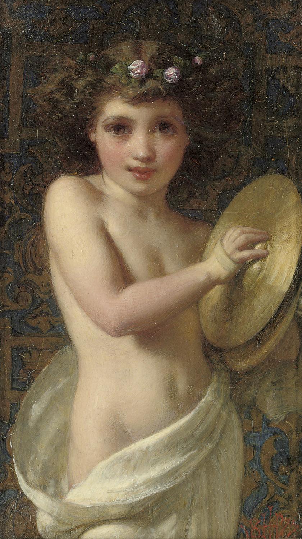 The cymbal girl
