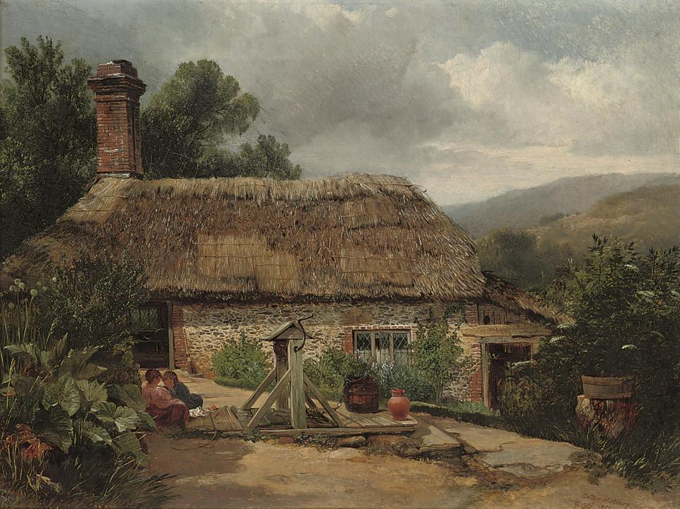 A cottage at Albury, Surrey