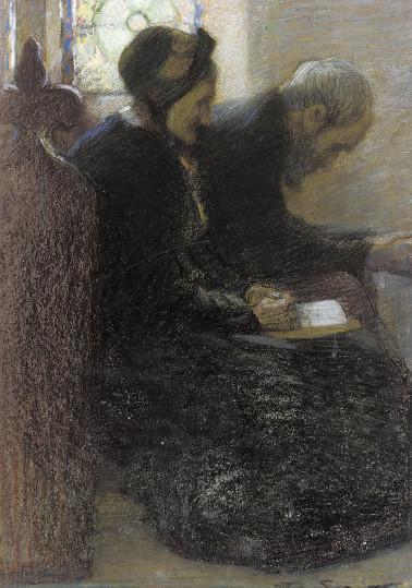 Divine contemplation; and Tea time