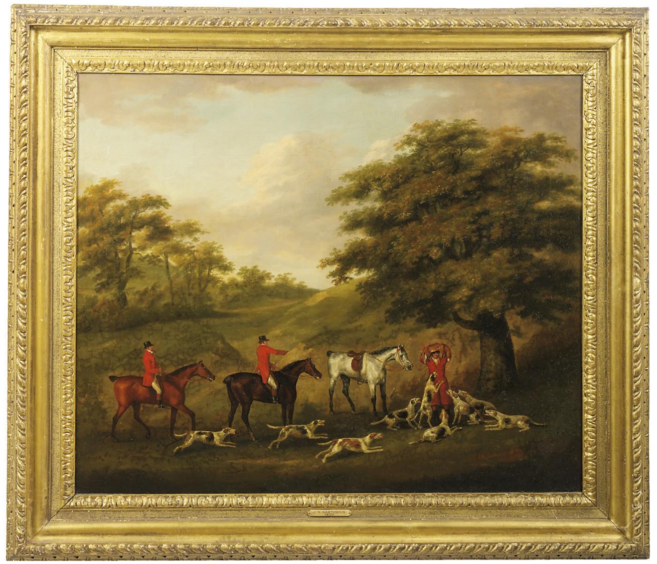 JOHN NOST SARTORIUS (BRITISH, 1755-1828)