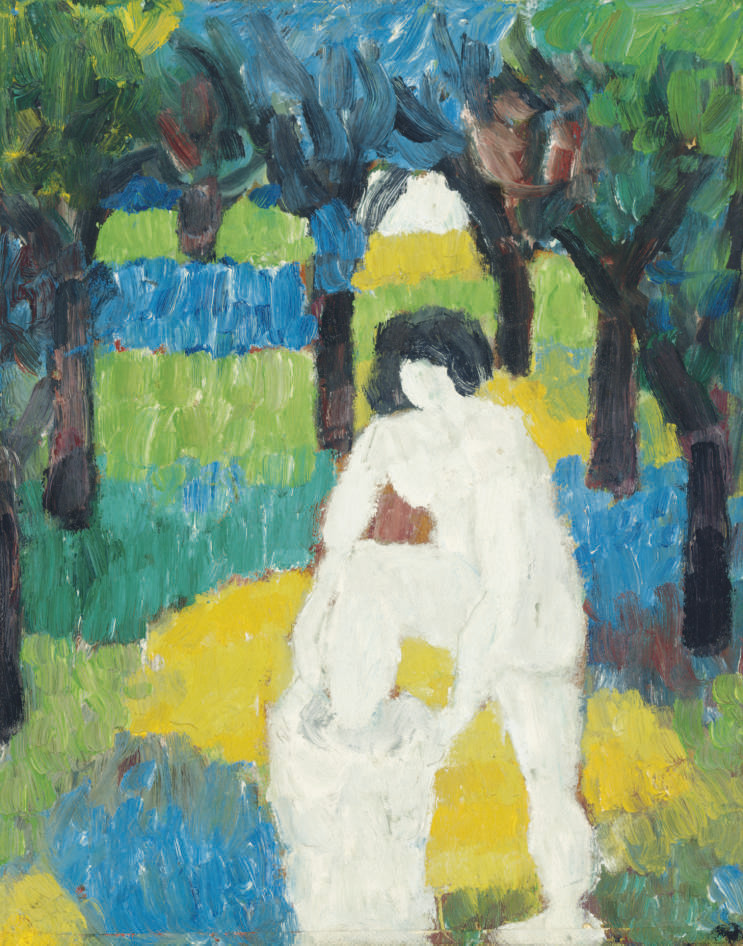 Untitled (Nude in a Landscape)