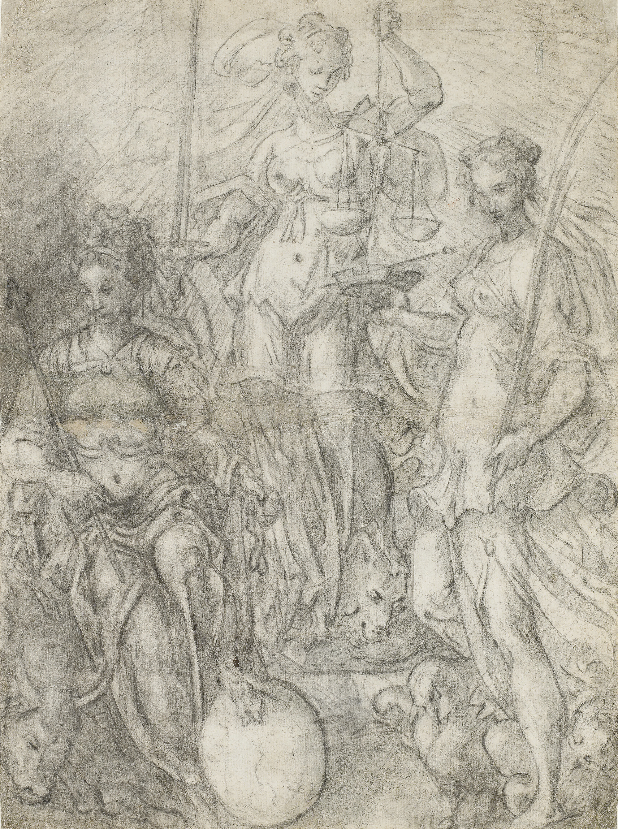 An Allegory of Temperance, Justice and Liberality