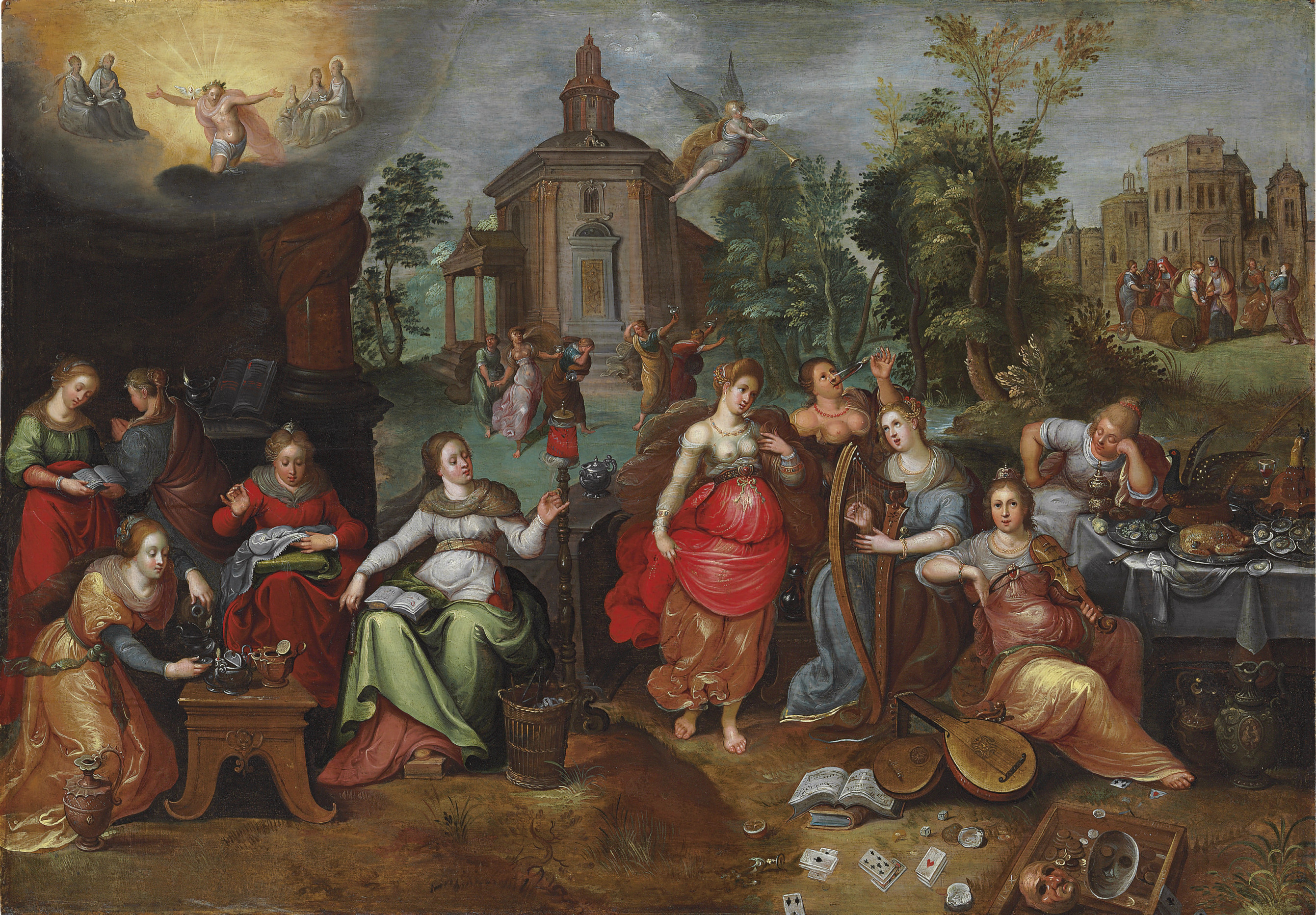 The Parable of the Wise and Foolish Virgins
