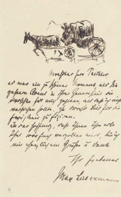 Max Liebermann (Berlin 1847-19