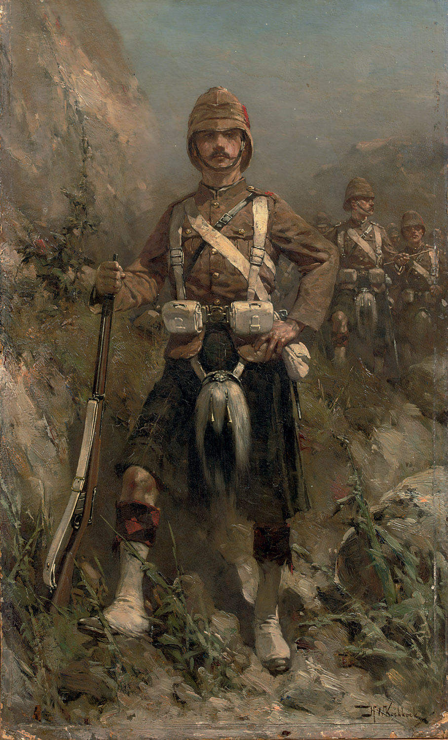 'A dour laddie of the Hindy-War' The 2nd batallion Gordon-Highlanders