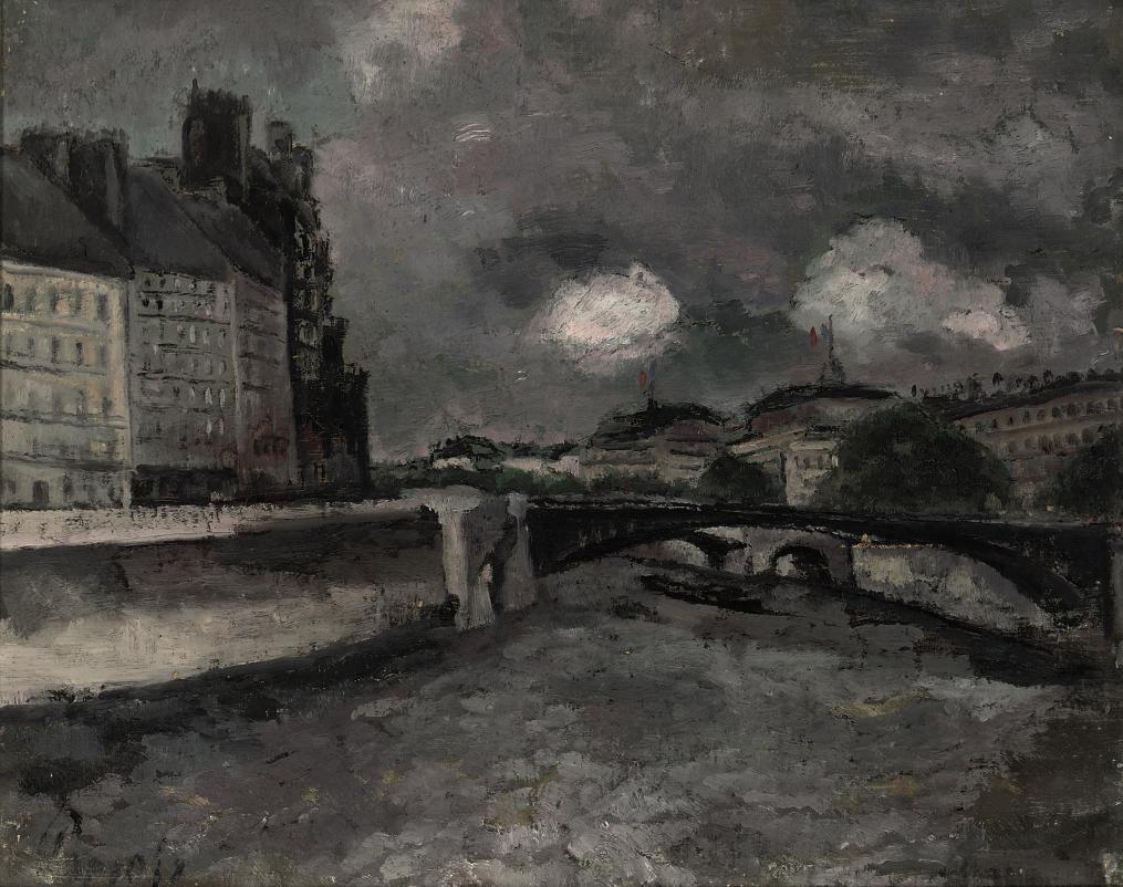 Pont d'Arcole in Paris