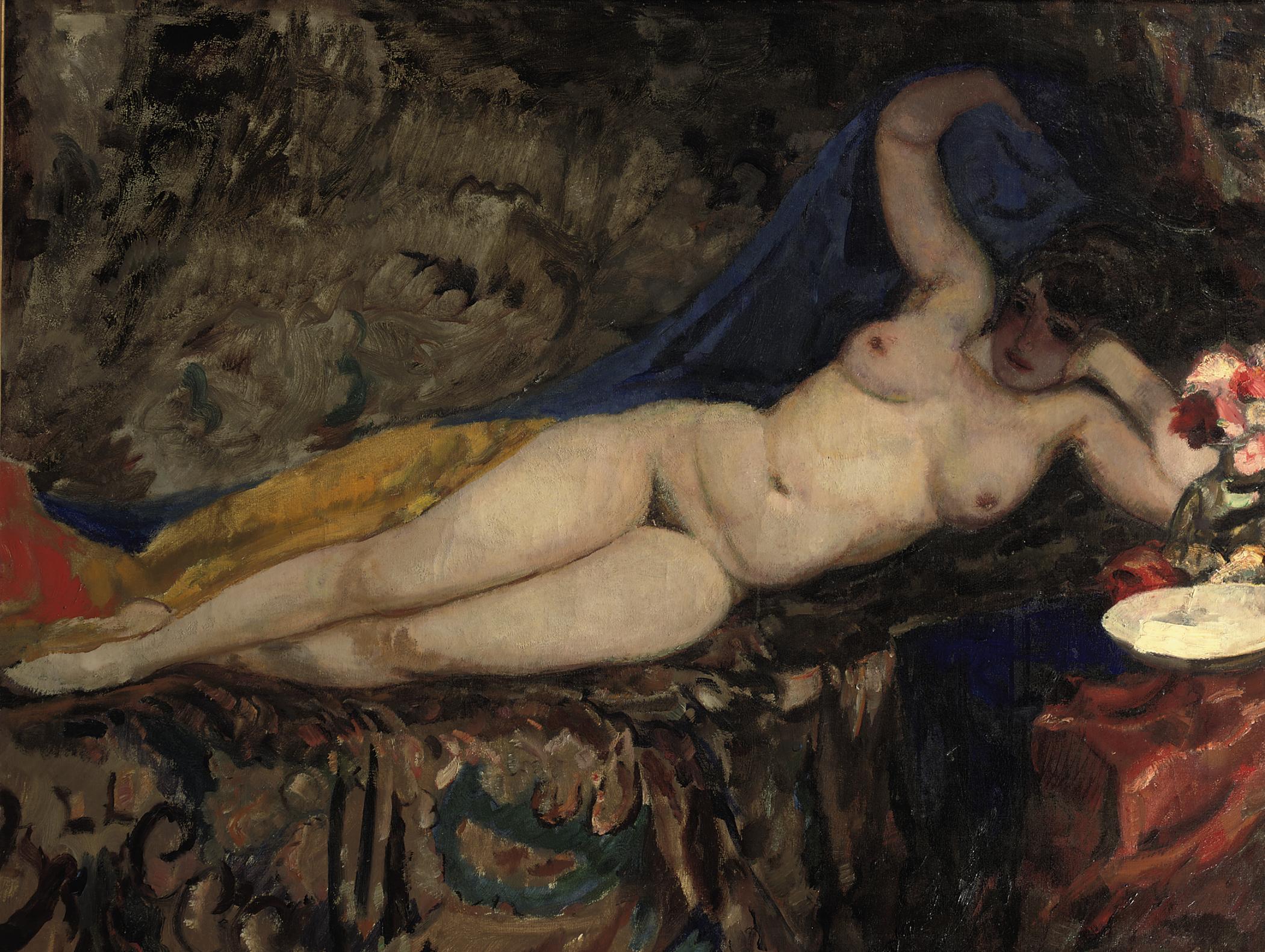 Naakt op Divan: Nude on a Sofa
