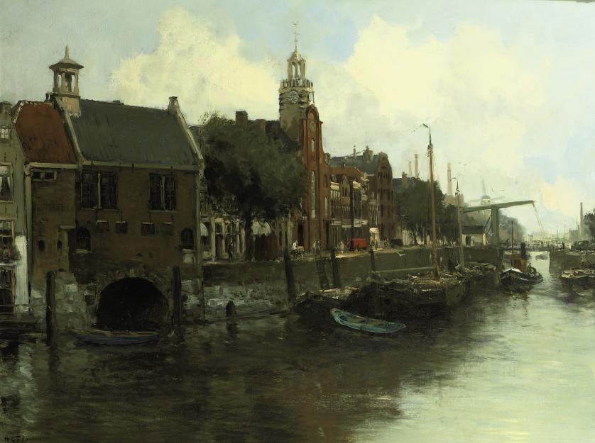 The Aelbrechtskolk in Delfshaven, Rotterdam