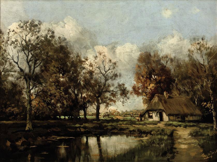 A Dutch farmhouse