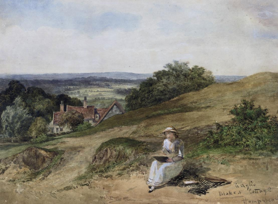 William Blake's cottage, Hampstead Heath
