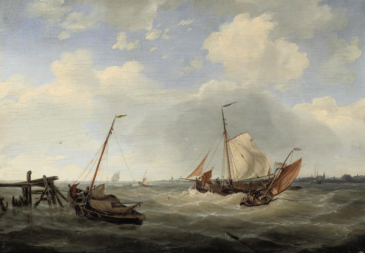 Sailing on choppy waters