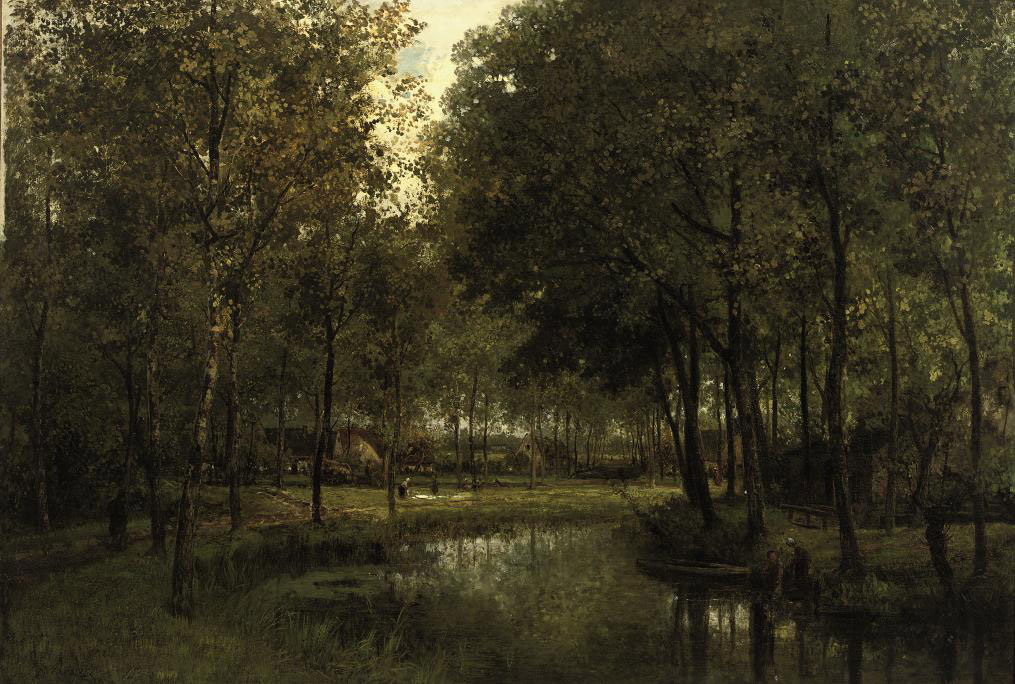 Langs de rivier: along a river