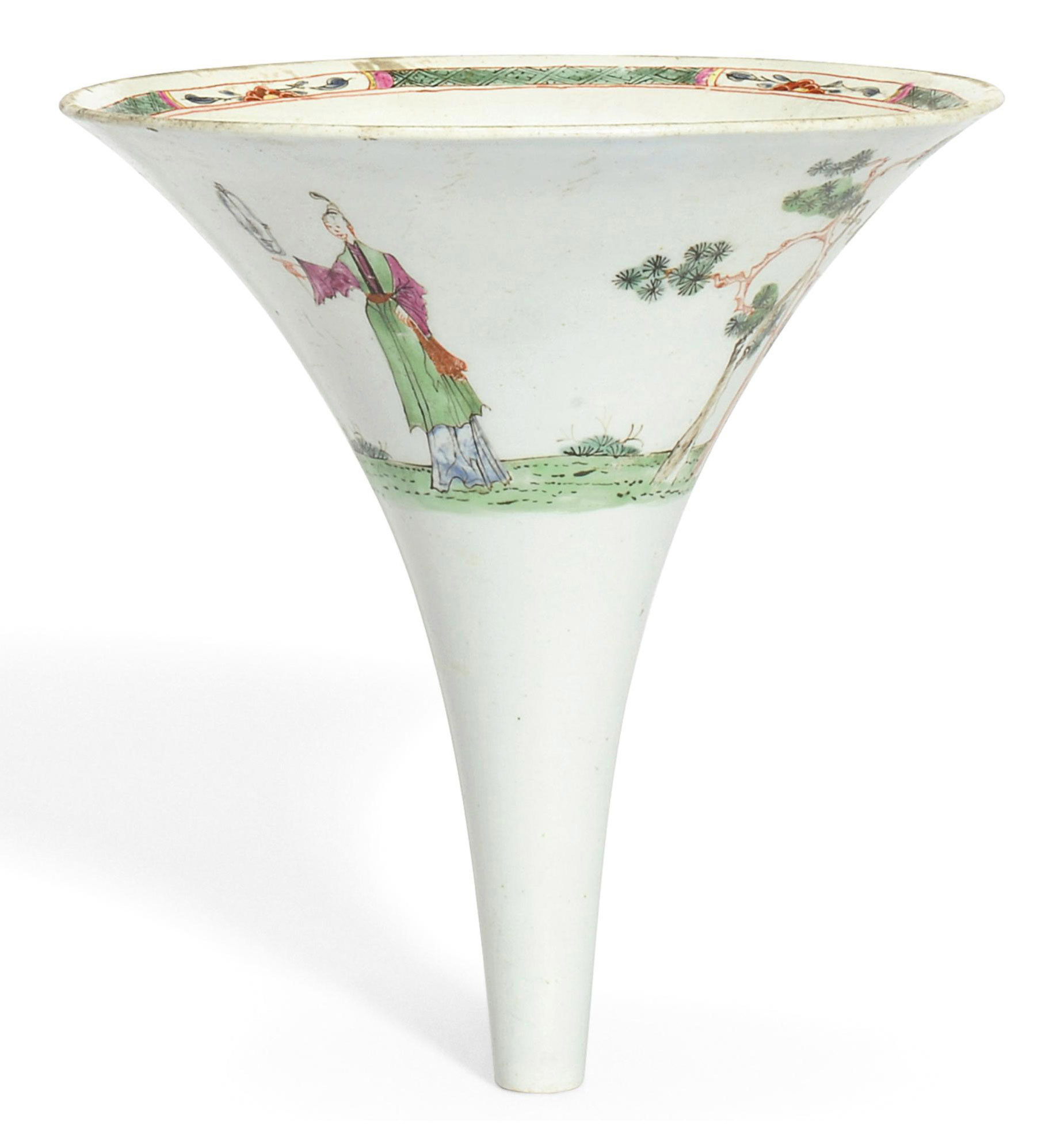 A WORCESTER WINE-FUNNEL