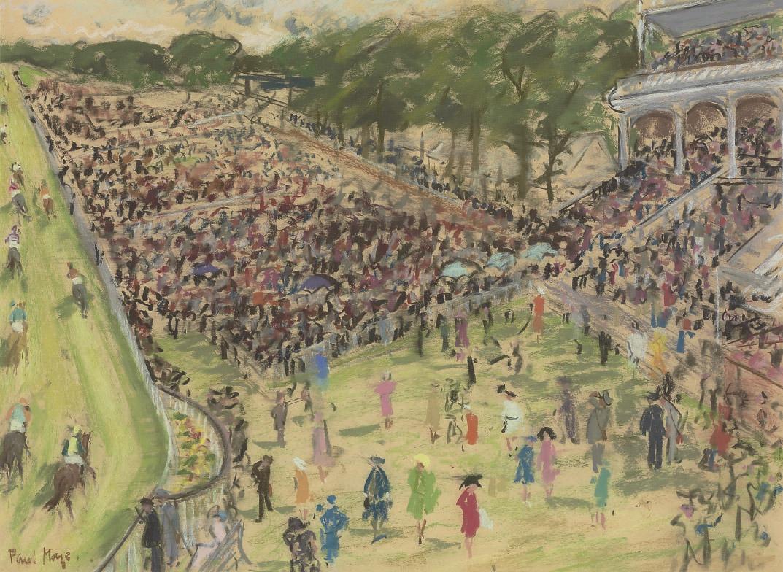 Spectators at the Races, Goodwood