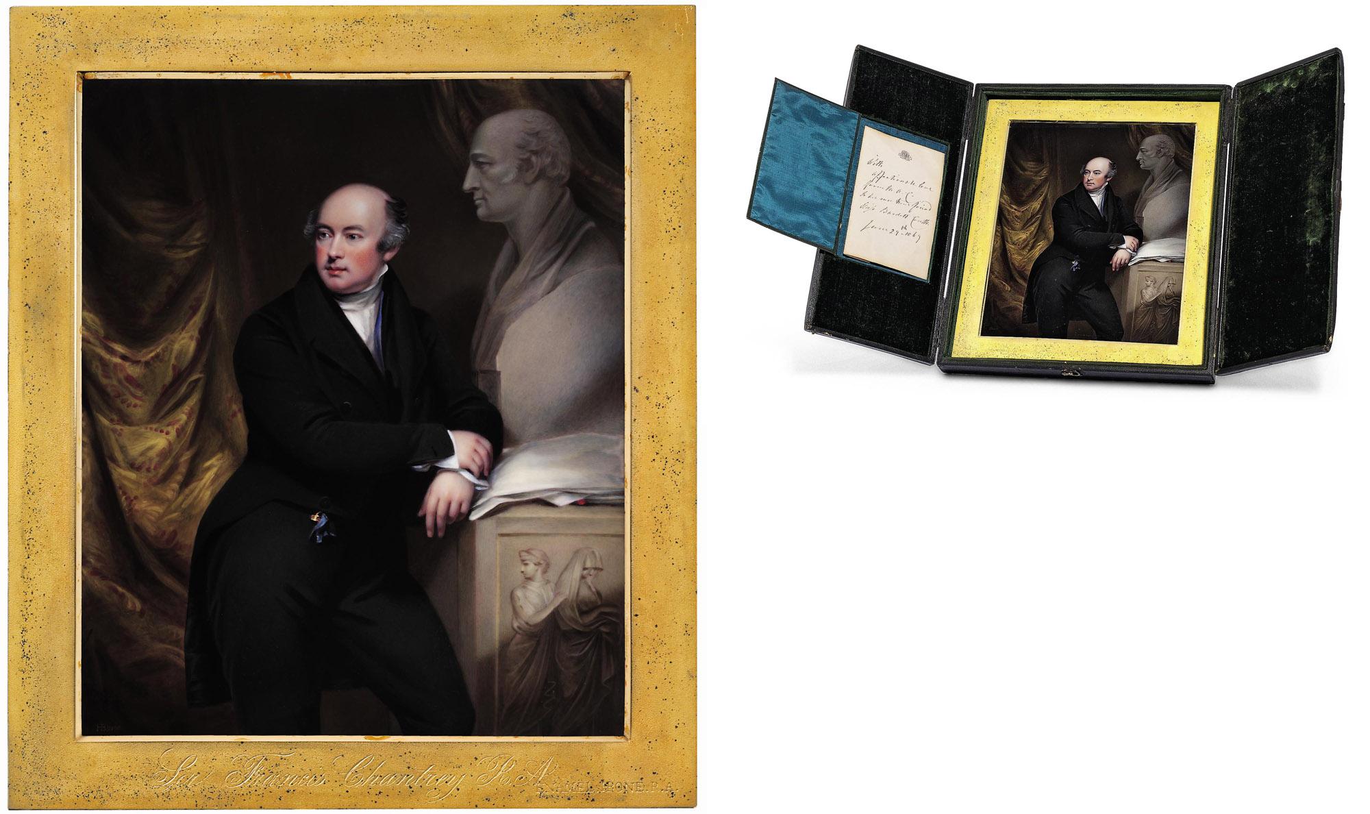 HENRY BONE, R.A. (BRITISH, 1755-1834) AFTER JOHN JACKSON, R.A.