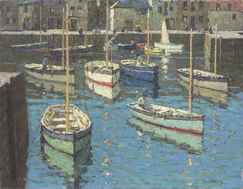 A Blue Day, Mevagissey