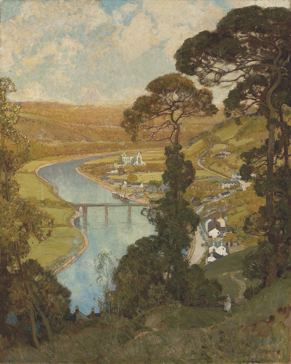Tintern, Valley of the Wye