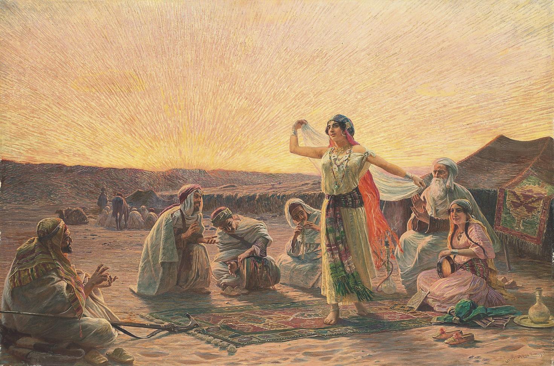 The evening dance
