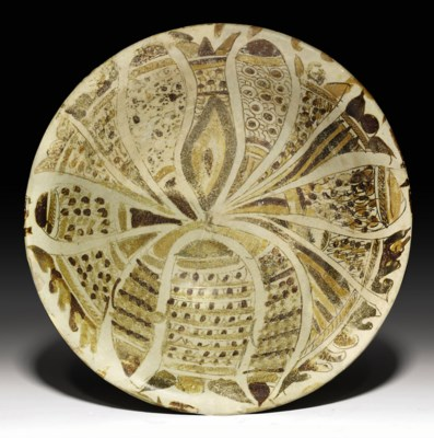 An abbasid polychrome lustre pottery bowl mesopotamia for Interior design 07871