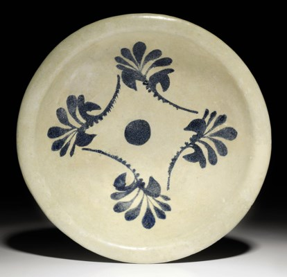 A large abbasid tin glazed dish possibly attributable to for Interior design 07871