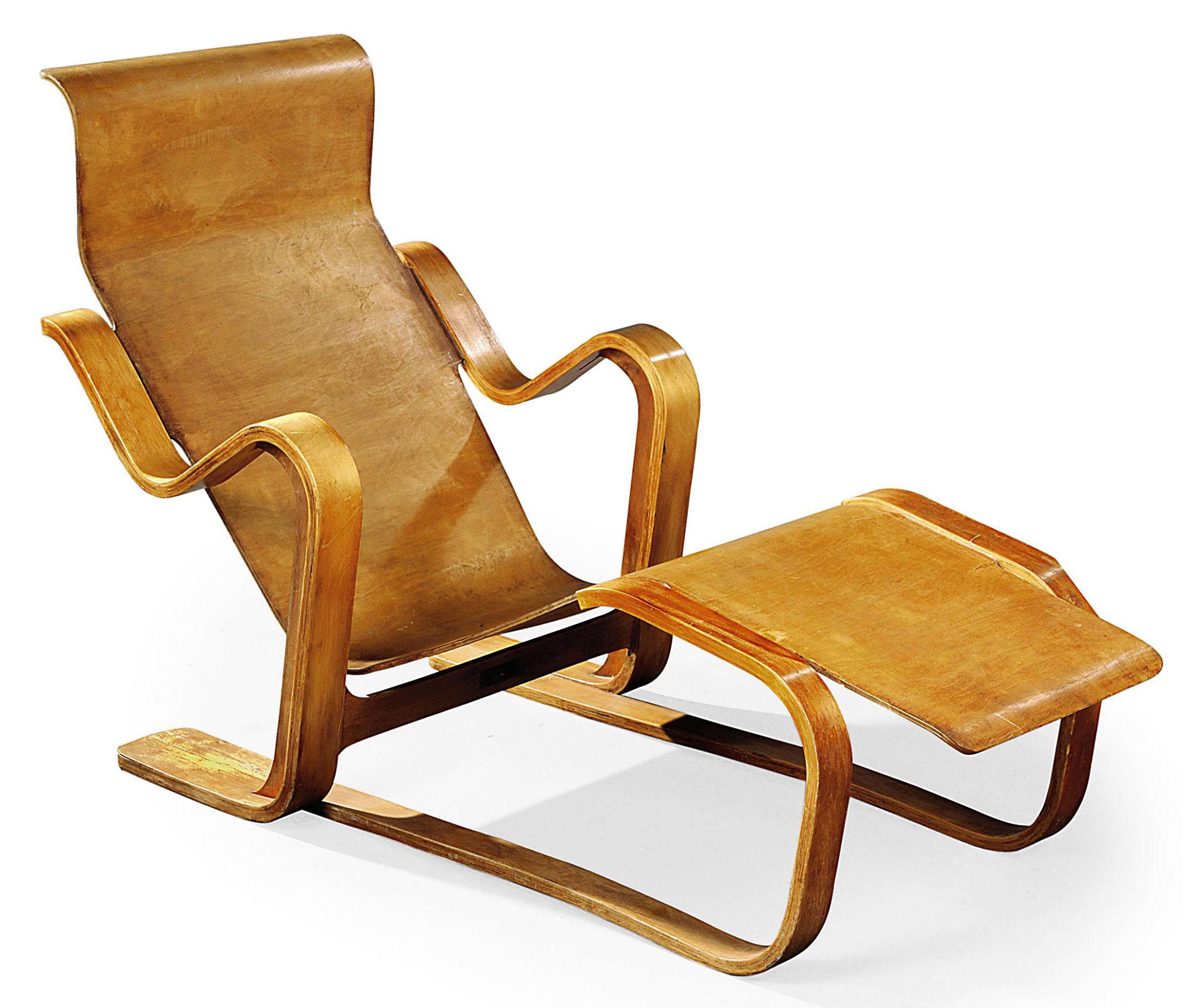 MARCEL BREUER 19021981 LONG CHAIR DESIGNED 1936 1930s