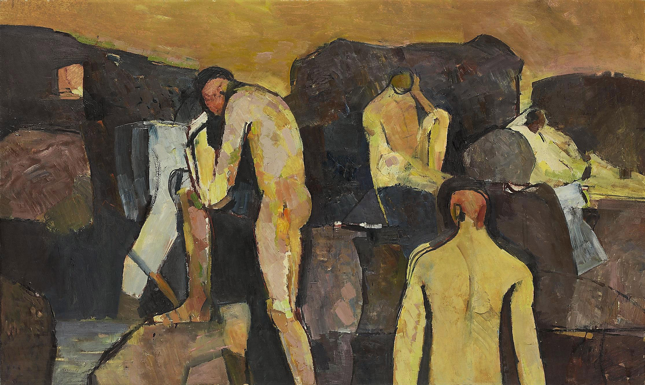 Bathers at Collioure