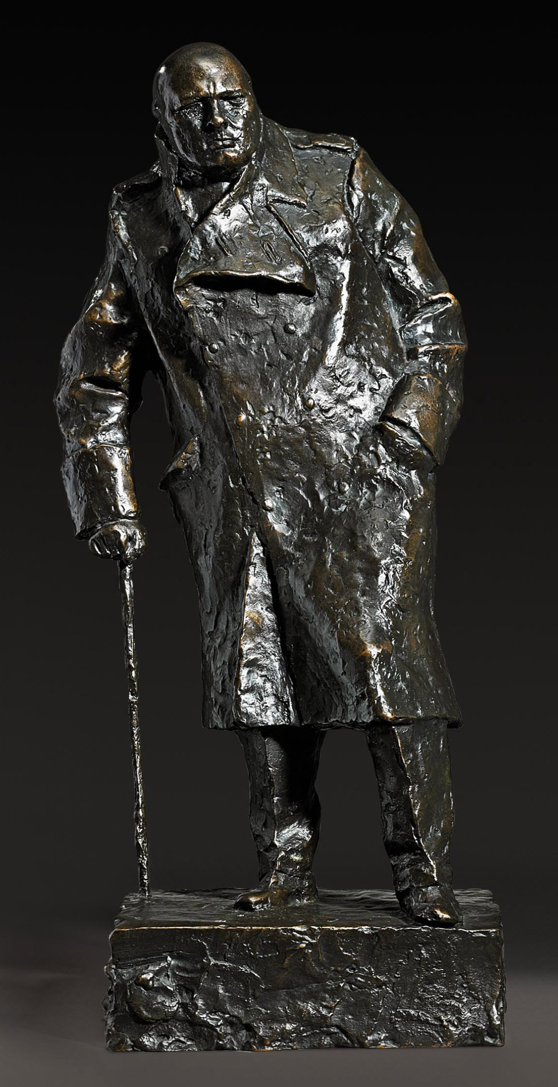 Maquette for the Winston Churchill Monument in Parliament Square