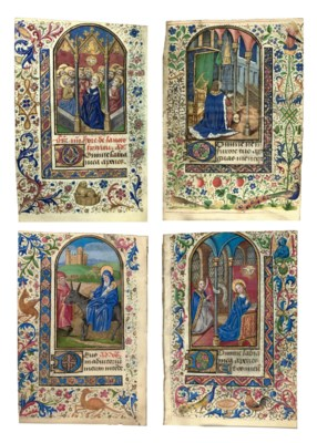 BOOK OF HOURS, in Latin, use o