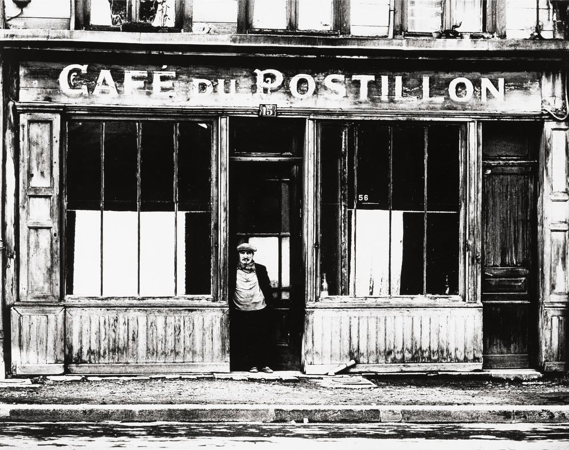 Café du Postillon, early 1960s