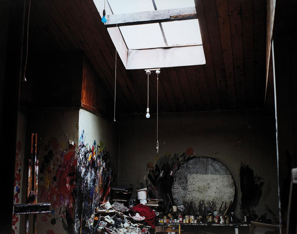 Francis Bacon's studio (from the 7 Reece Mews Series), 2001