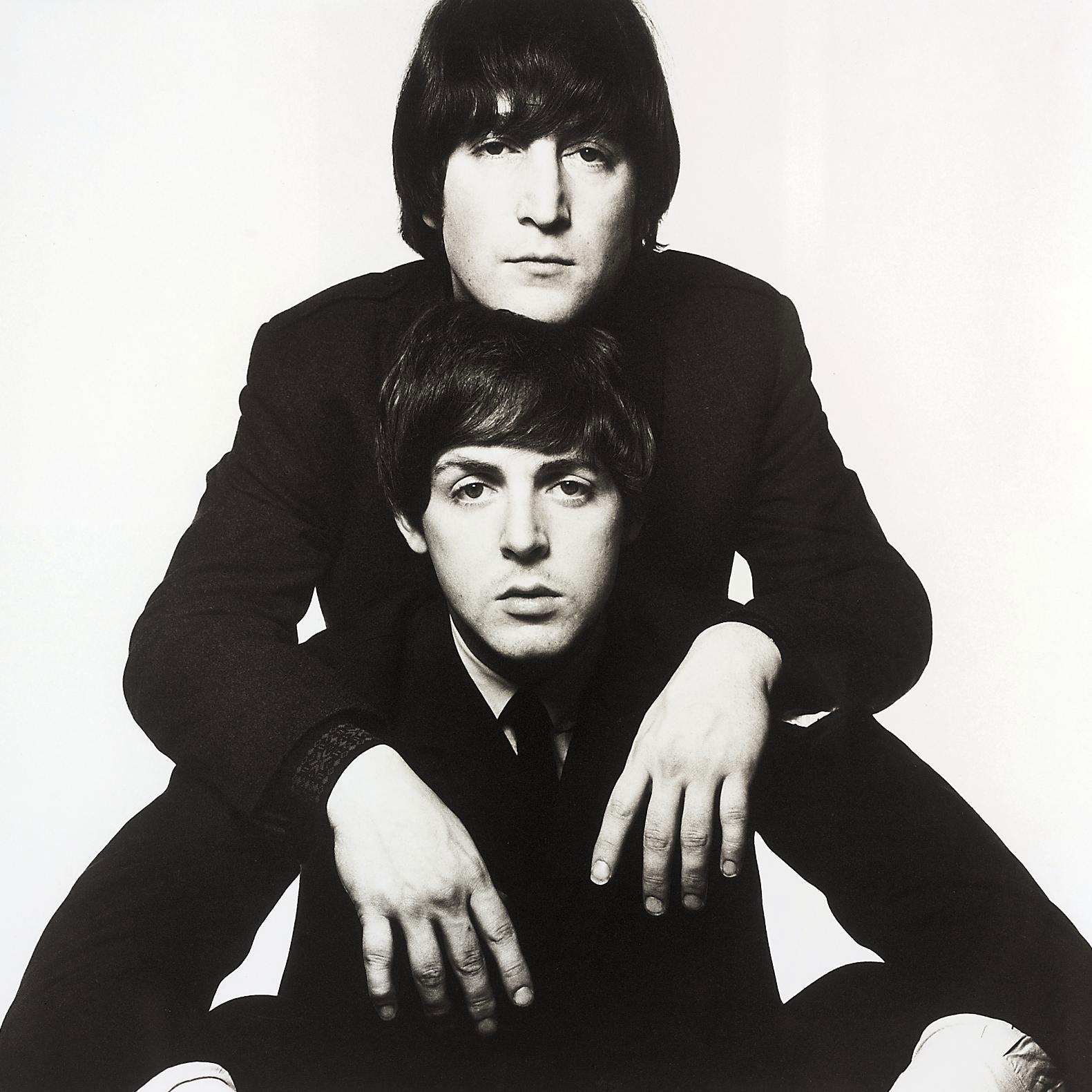 John Lennon and Paul McCartney, 1965