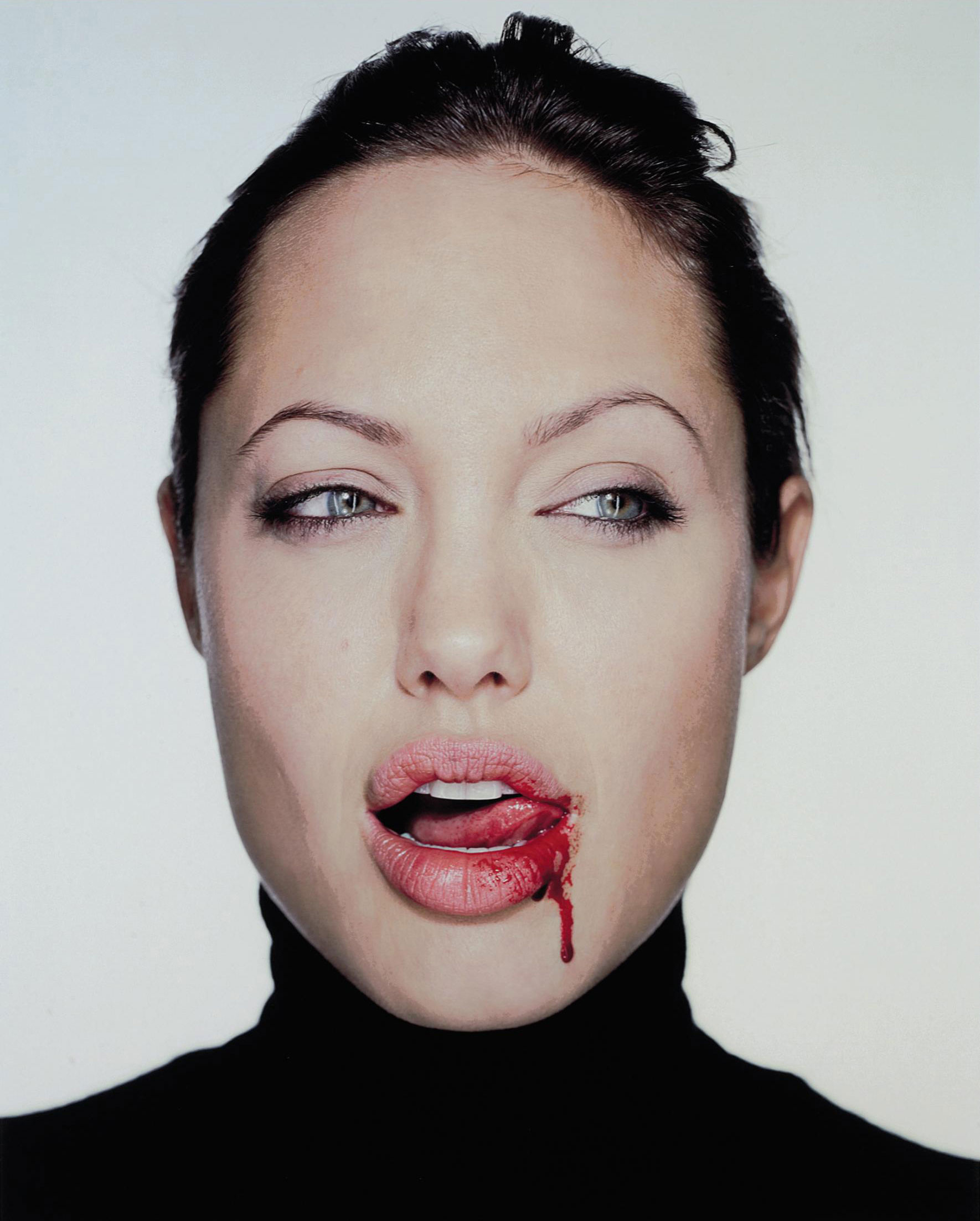 Angelina with Blood, 2003