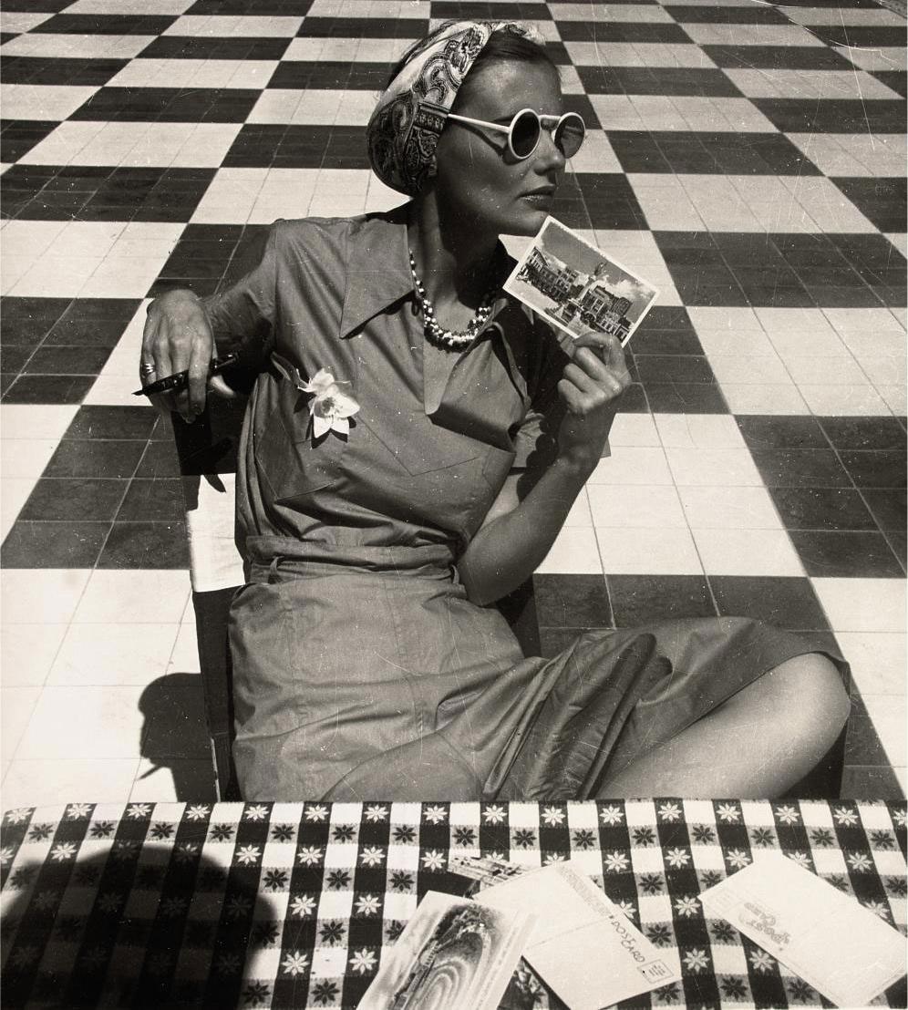 Mary Sykes in Puerto Rico, 1938