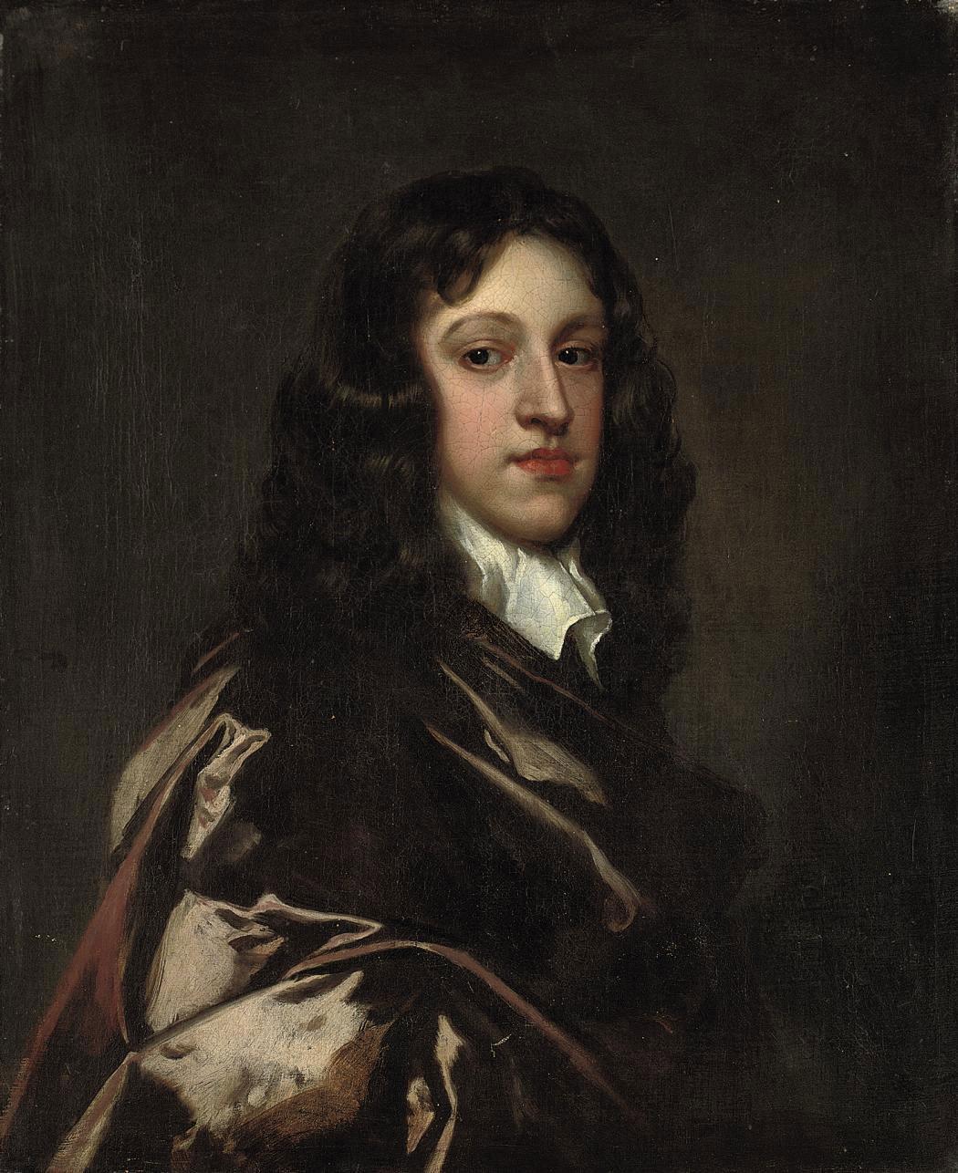 Portrait of Samuel Lee (b. 1639), half-length, in a brown cloak