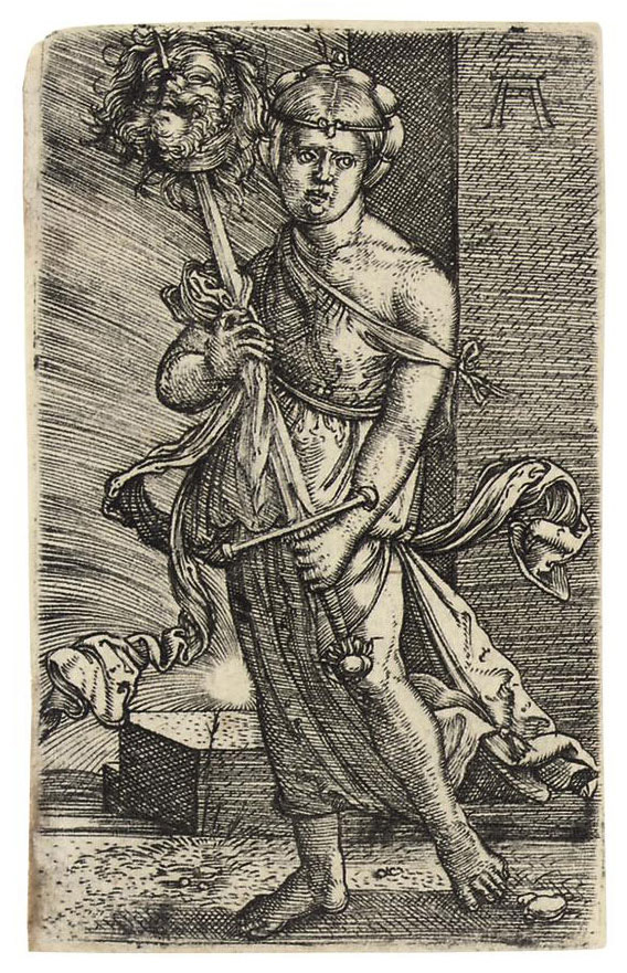 Judith with the Head of Holofernes (Bartsch 1; Winzinger 158)