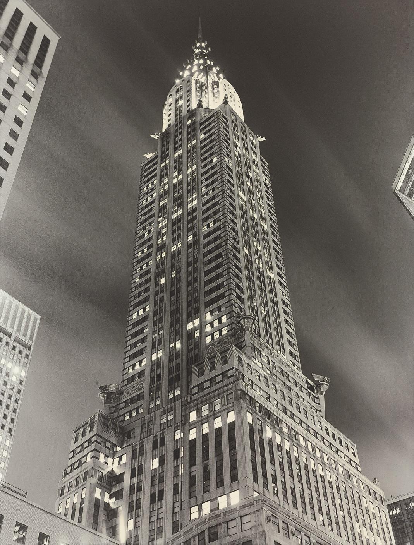Chrysler Building at night, 1997